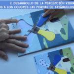 Fases del ejercicio de percepción visual